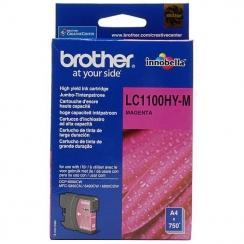 Atramentová kazeta Brother LC1100HYM, magenta